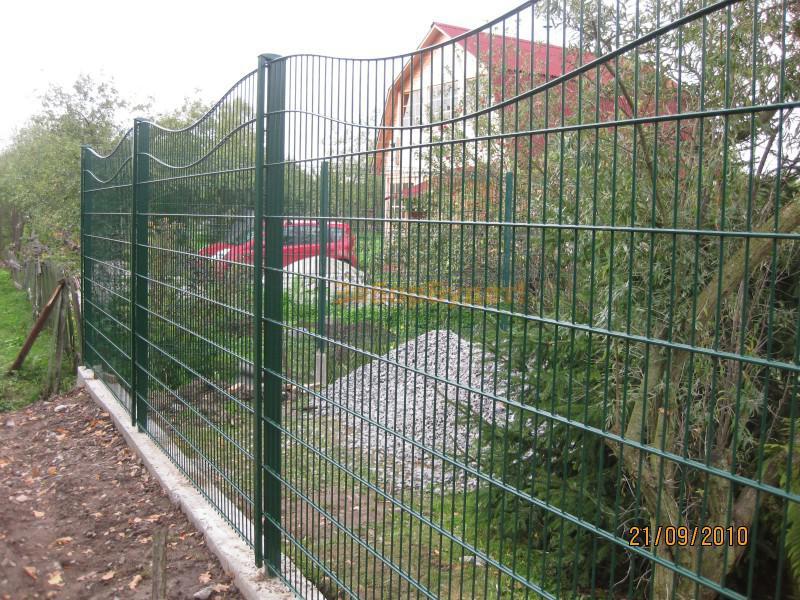 Как собрать забор