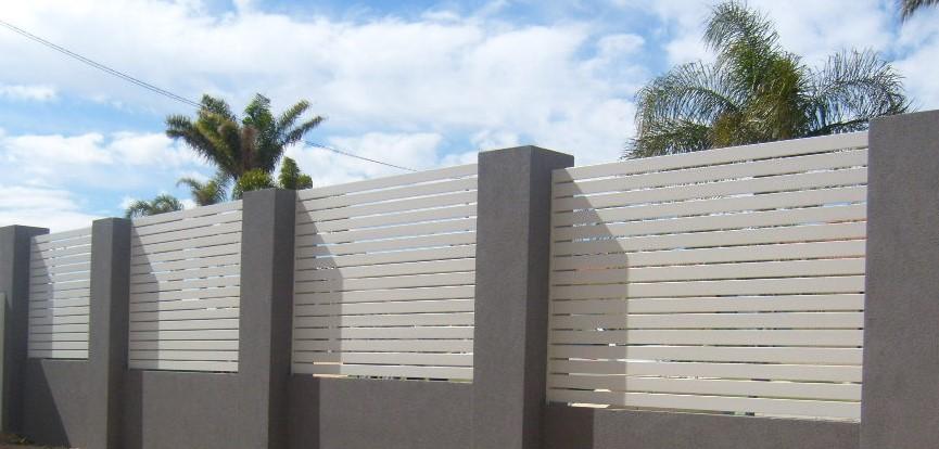 забор с железобетонными столбами